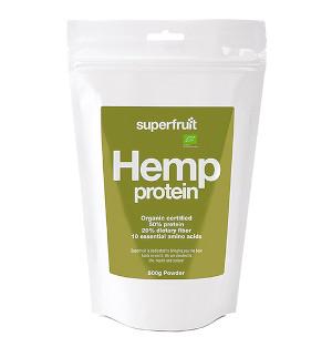 Superfruit Hemp Protein, hampaproteinpulver Eko