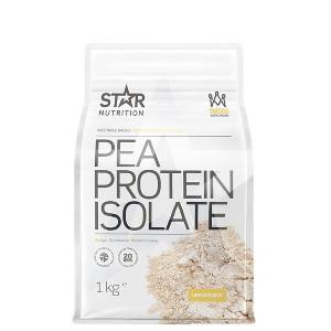 Pea Protein Isolate, Star Nutrition, ärtproteinpulver